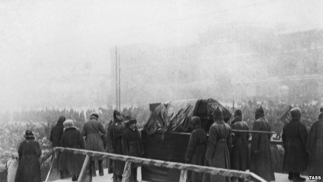 Похороны Владимира Ленина 27 января 1924 года