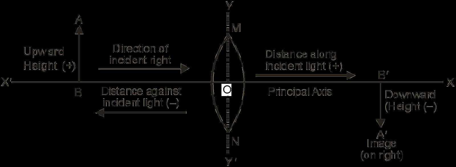 cartesian sign convention