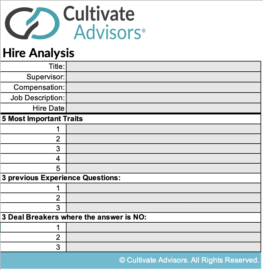 Candidate Selection tool