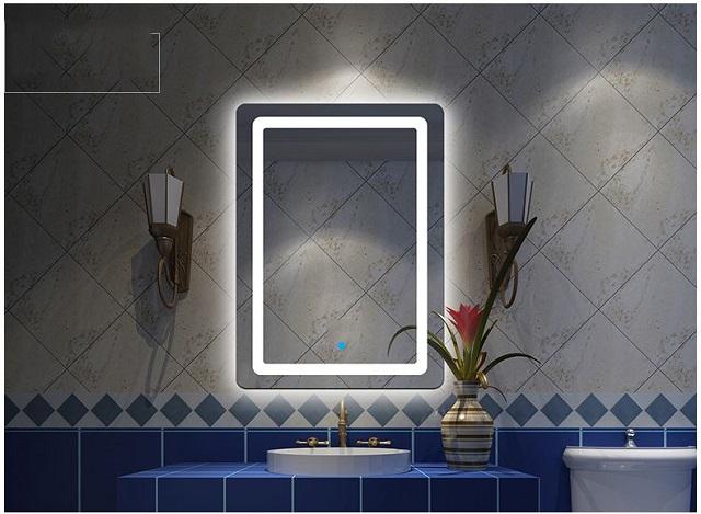 Ưu điểm của gương phòng tắm đèn LED