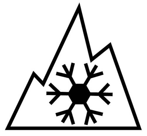 logo 3PMSF 3 Peaks Mountain Snow Flake