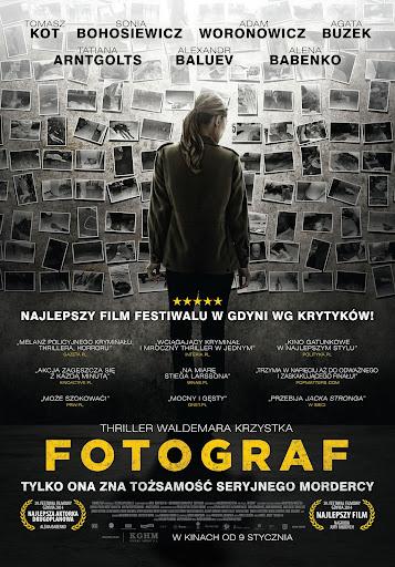 Polski plakat filmu 'Fotograf'