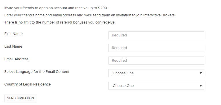 How to Sign Up for Interactive Brokers Referral Program