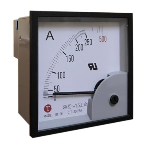 Đồng hồ đo dòng điện (Ampe kế) BE-96 250/5A Taiwan Meter