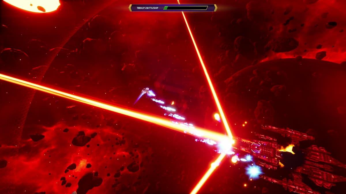 Subverse Tibolds Battleship boss