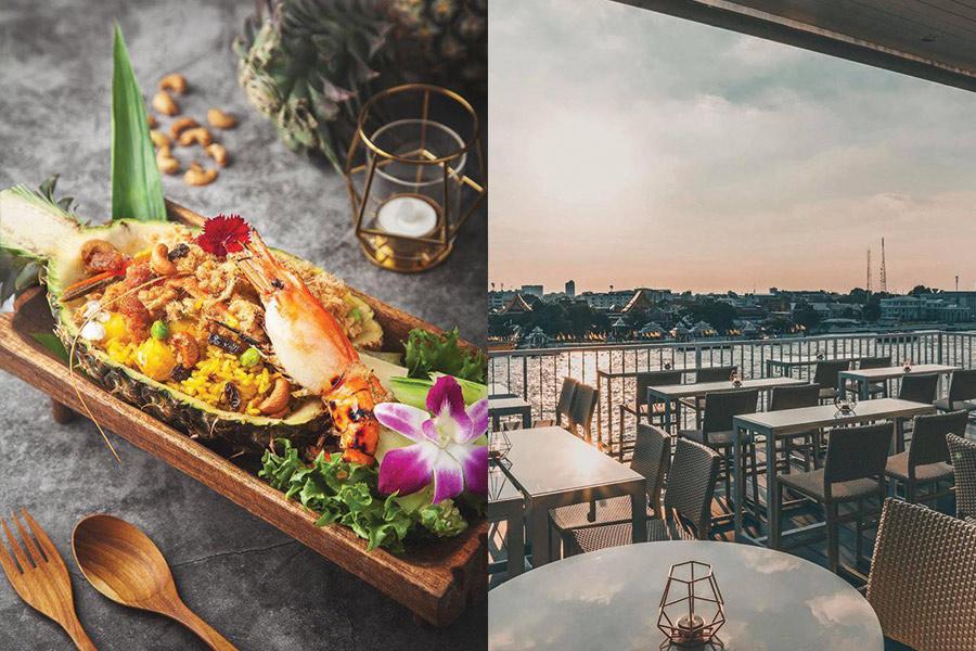 2. วิวอรุณ รูฟท็อป เรสเทอรองท์ & บาร์, กรุงเทพ (View ARUN – Rooftop Restaurant & Bar) 02
