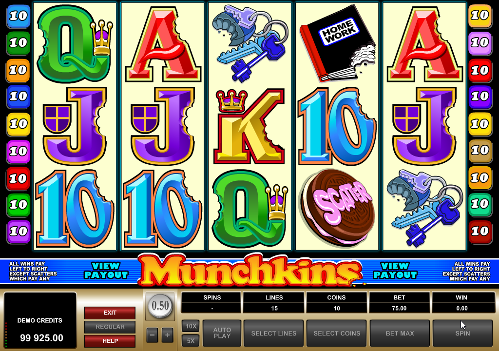 Munchkins Slots Machine Review
