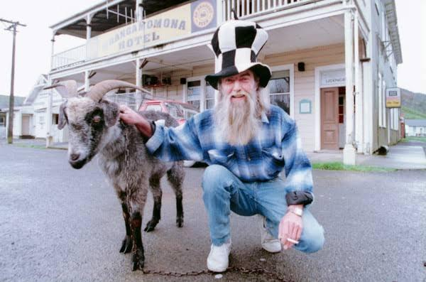 纽西兰独立小镇山羊当总统