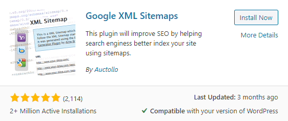 XML sitemap plugin