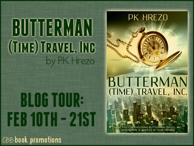 {Review+Giveaway} Butterman (Time) Travel, Inc. by P.K. Hrezo