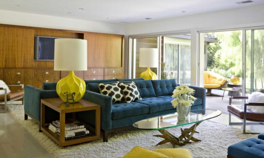cozy mid century living roomjpeg - Mid Century Modern Decor