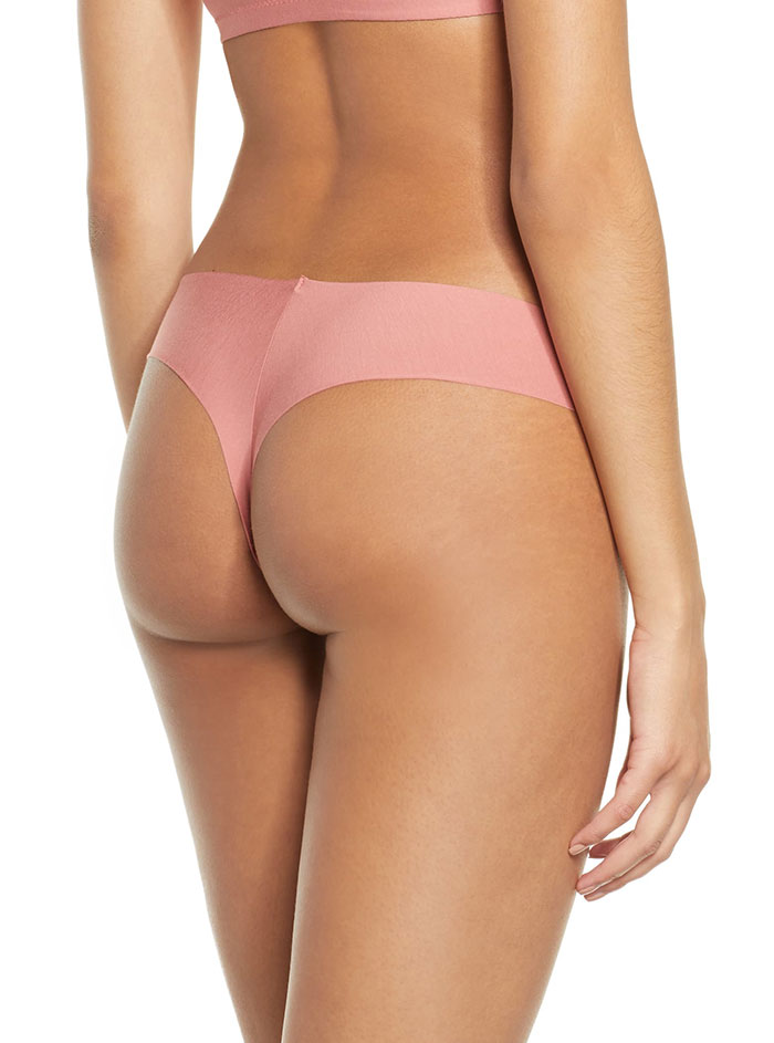 Commando Butter Stretch Modal Thong to wear under leggings