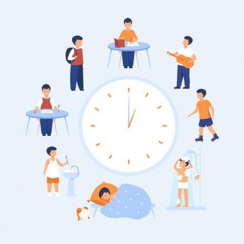 Horario escolar | Vector Gratis