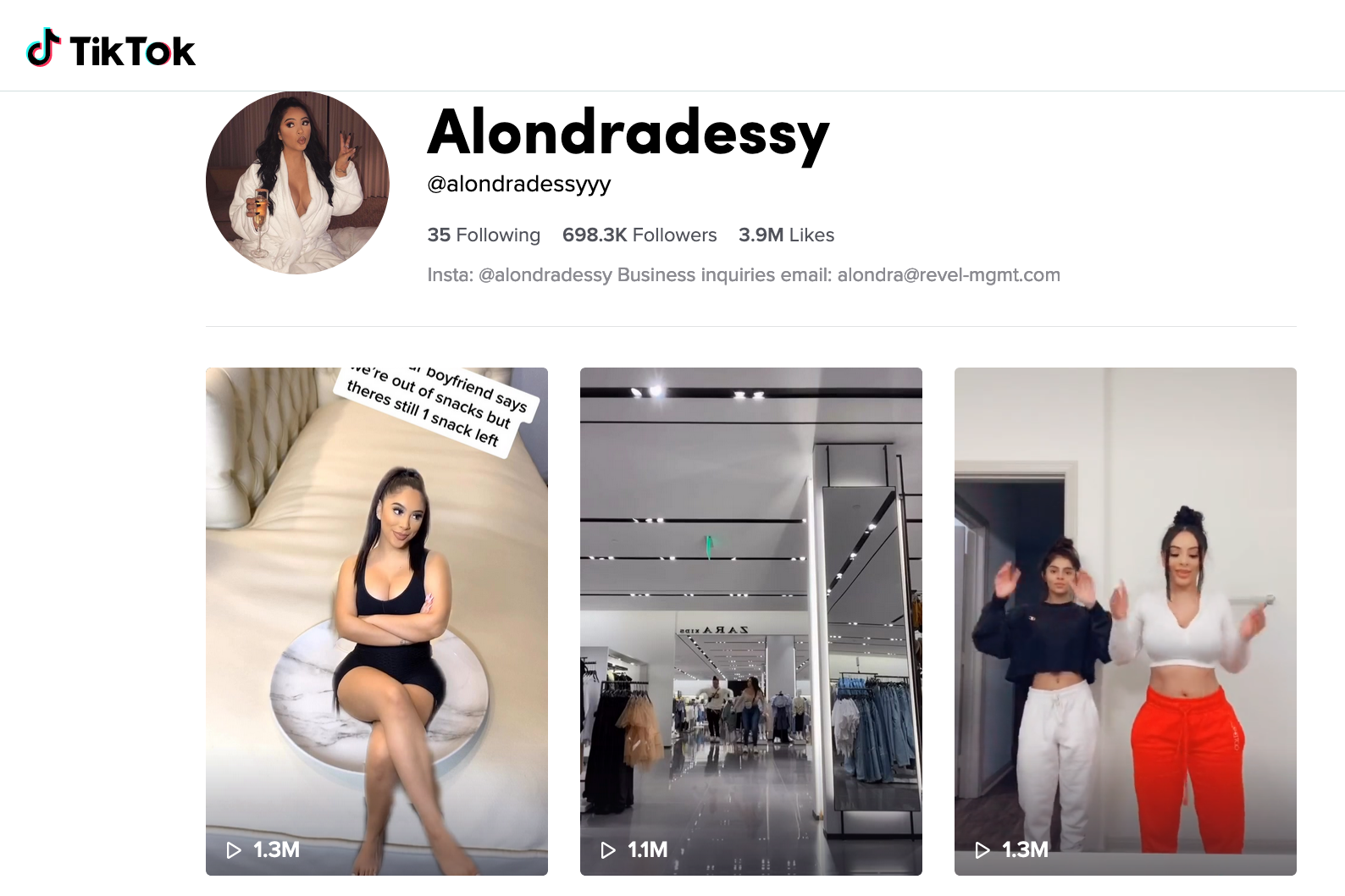 Alondra | Beauty & Fashion Macro Influencer