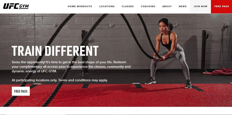 UFC Gym website.