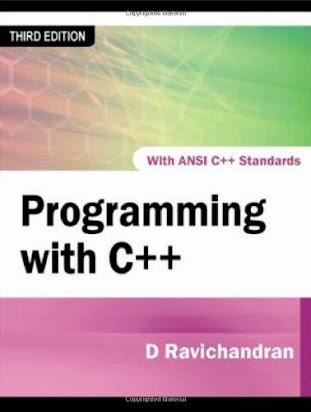 N537 Book] PDF Ebook Programming With C++ By D  Ravichandran