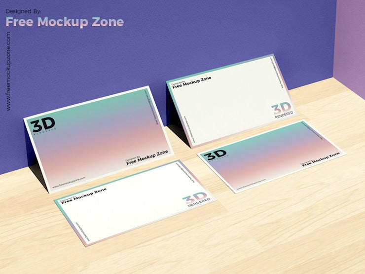 free-business-card-on-wooden-floor-mockup-for-branding