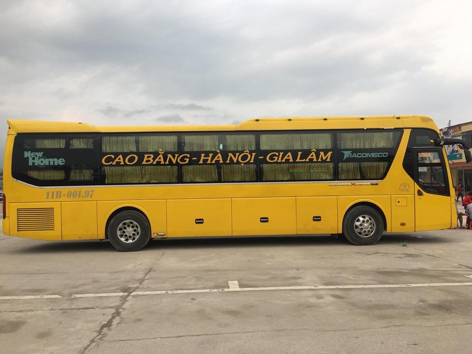Xe Thanh Ly từ Hà Nội đi Cao Bằng
