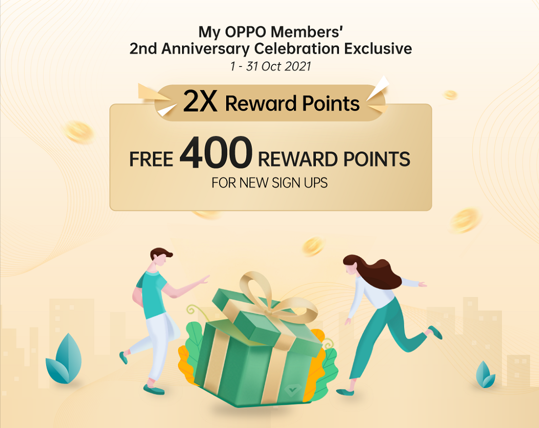 OPPO Offers RM2 Deals and Rewards Worth Up to RM4 million in Conjunction with My OPPO Members' 2nd Anniversary Celebration