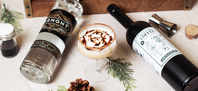 A Double Dose of Craft In This Winter Cocktail