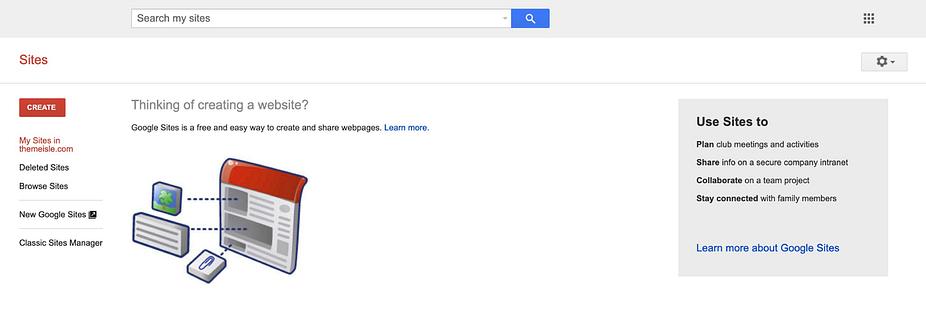 Trang web Google