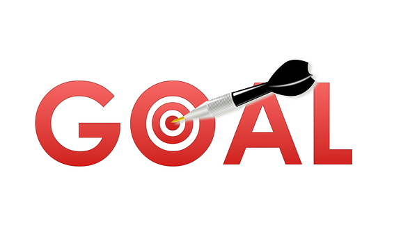 Goal Setting Goal Dart Target Success Achi
