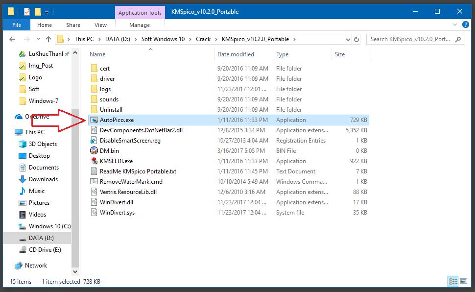 Phần mềm Active Windows