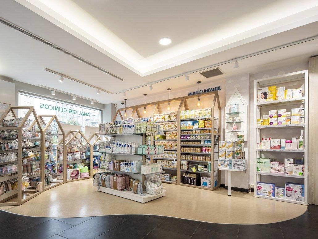 Tendencias en interiorismo de farmacia para 2021