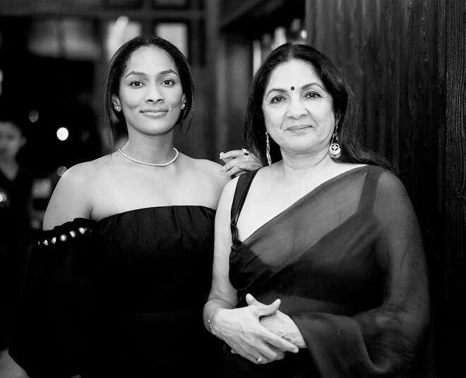 Masaba Gupta with her Mother Neena Gupta