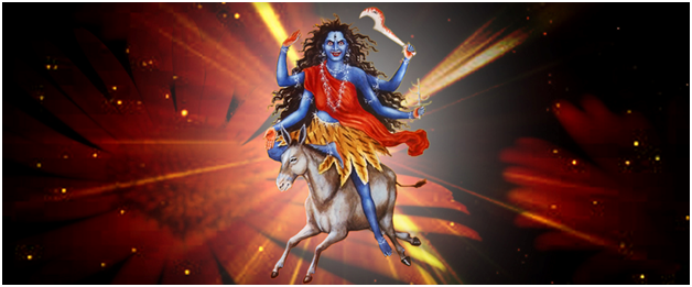 Maha Saptami Navratri Maa Kalaratri Seventh Avtar of Durga Maa Veshno Deni HD Wallpapers, Images, Pictures, Photos, Vectors, Graphics, Pics, Greeting Cards