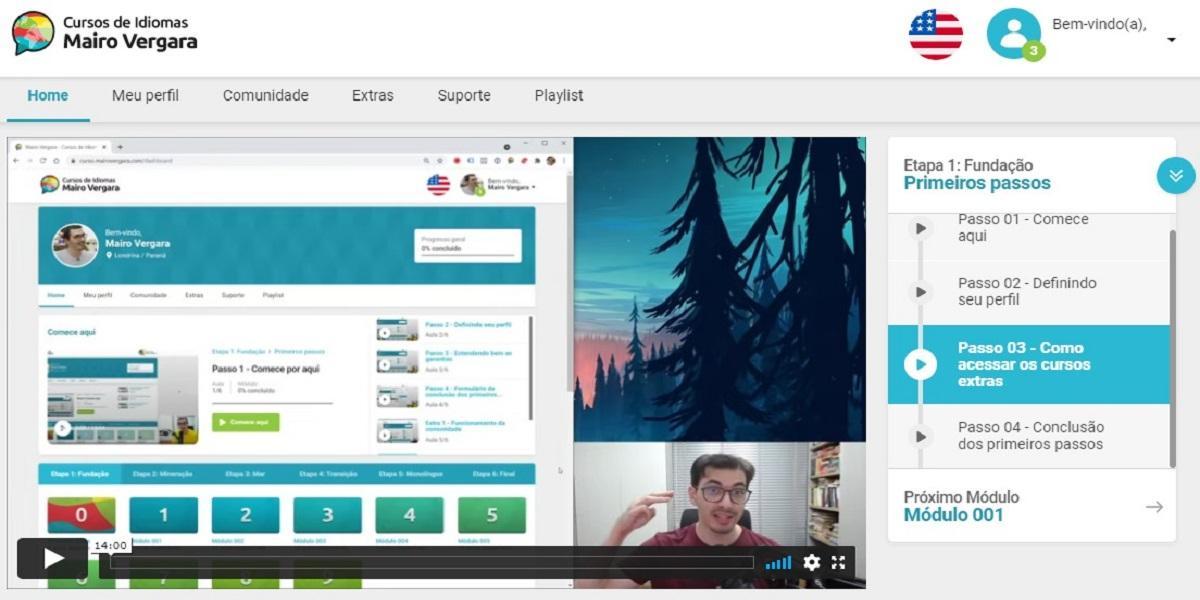 Interface gráfica do usuário, Site  Descrição gerada automaticamente