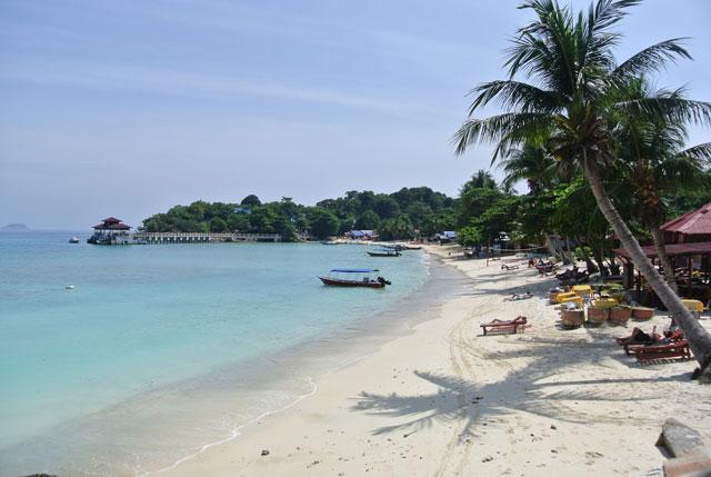 Coral Bay, Pulau Perhentian Kecil, Terengganu.