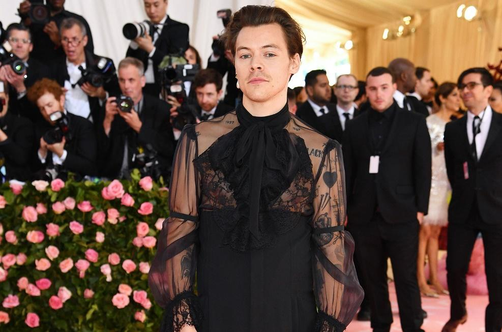 Image result for harry styles met gala