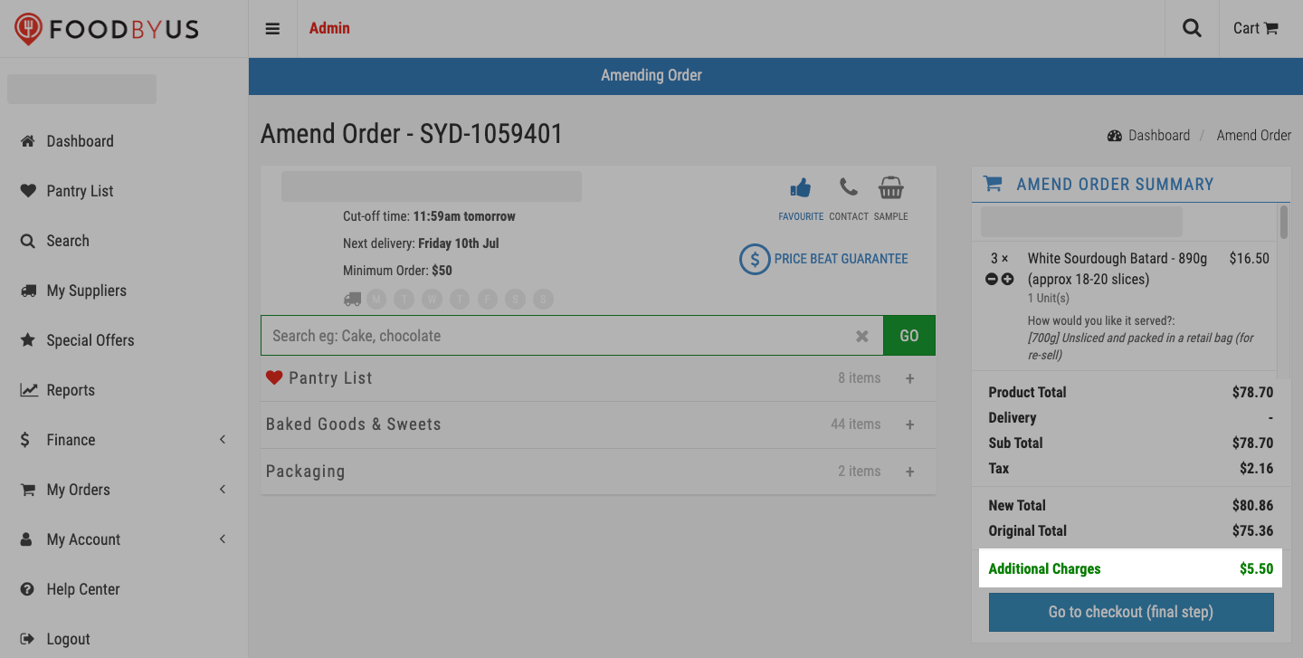 FoodByUs_additional_charges_at_checkout