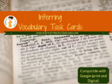 set of task cards to help students with tier 2 vocabulary