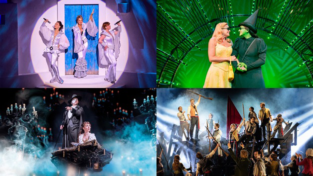 selection of west end musical scenes