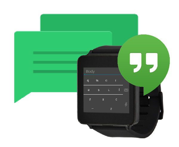 How to reply to Hangouts messages on Android Wear using a