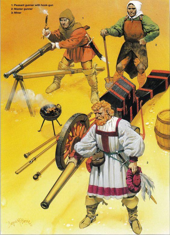 Gunners, German Peasants' War 1524-26