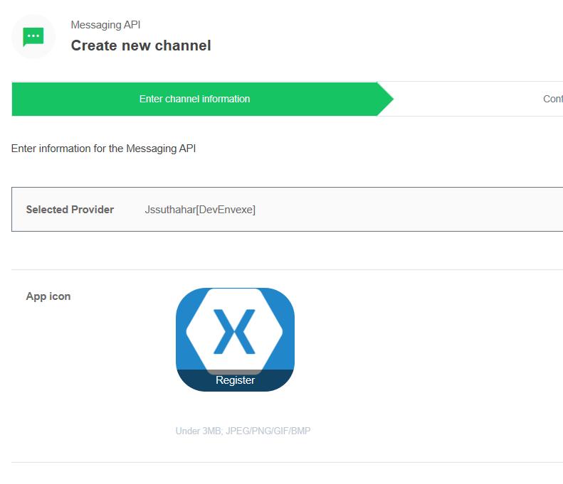 Microsoft Bot Application deploy to Line App using Azure Bot