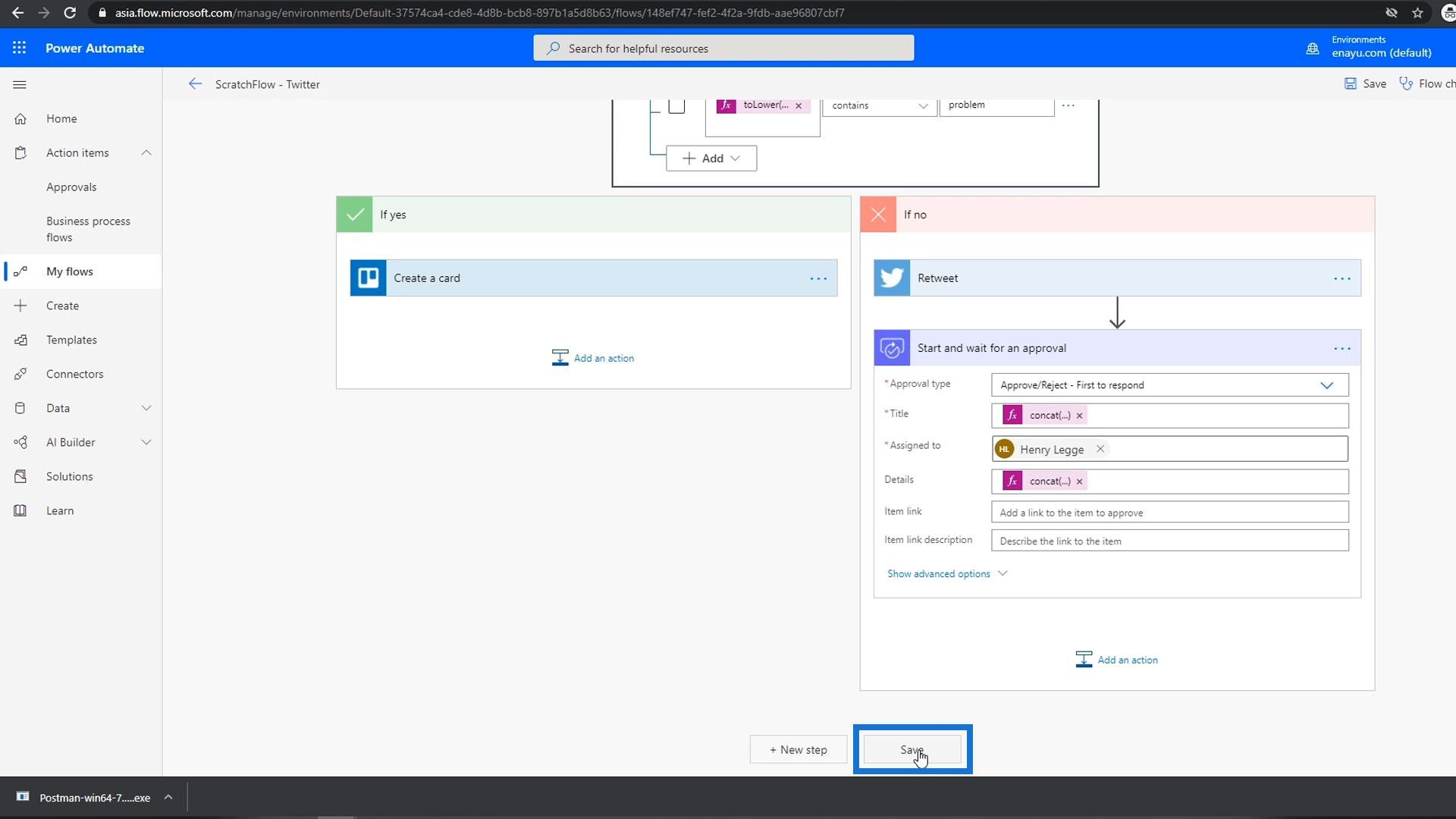 Approval Workflow In Power Automate