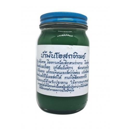 น้ำมันโอสถทิพย์ (ตำรับวัดโพธิ์) สีเขียว (จัมโบ้) -  ขายส่งสมุนไพร,คิดถึงสมุนไพรคุณภาพ คิดถึงอูทากะ : Inspired by LnwShop.com