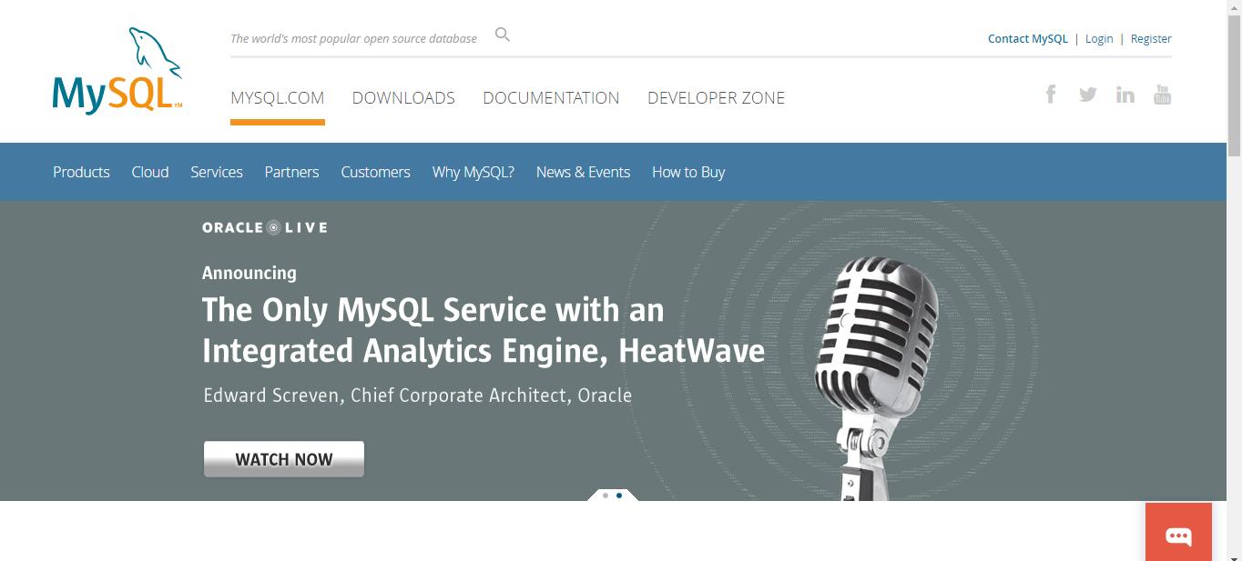 MySQL is a Database Management Software