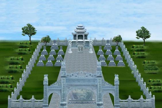 Nghĩa trang gia đình là nơi dành cho những người đã khuất trong gia đình