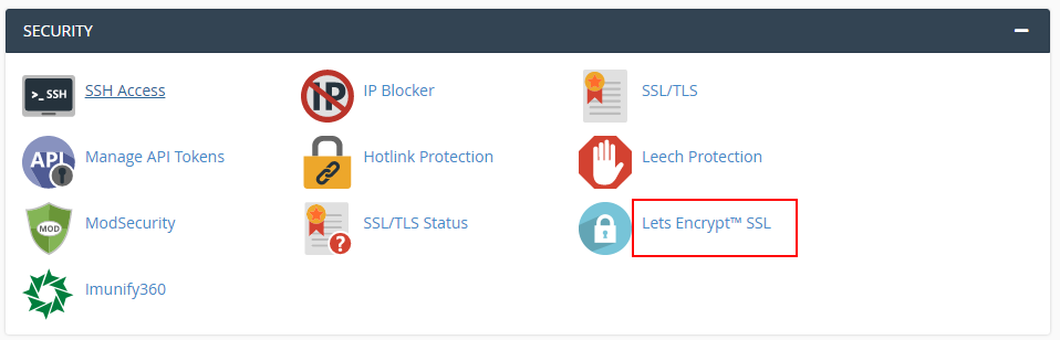 How to install let's encrypt  free SSL certificate for WordPress on cPanel