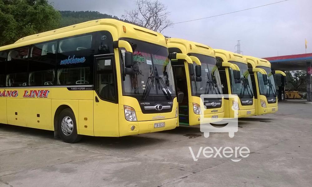 Xe Hoàng Linh từ Hà Nội đi Quảng Bình