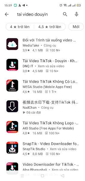 Tải video Tiktok Trung Quốc trên điện thoại (1)
