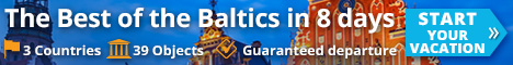 Start your vacation with Baltic Tours