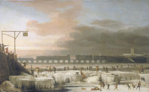 замерзшая Темза