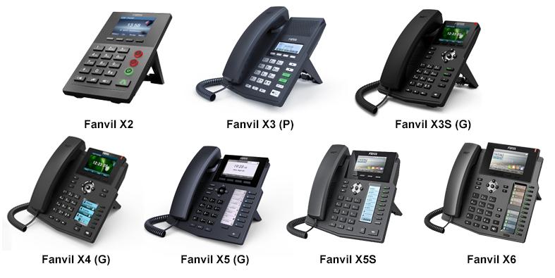 Fanvil serie X de Fanvil para 3CX