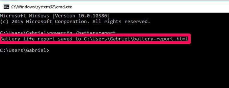 Hướng dẫn kiểm tra tình trạng chai Pin trên laptop Windows không cần cài phần mềm